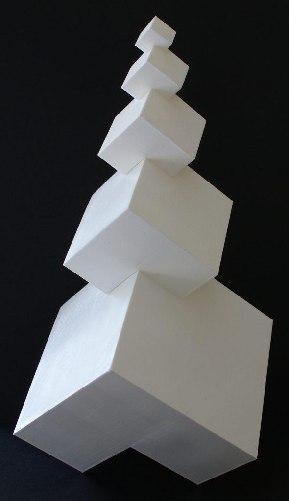 3D-print van kubussen