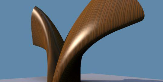 houten illusie