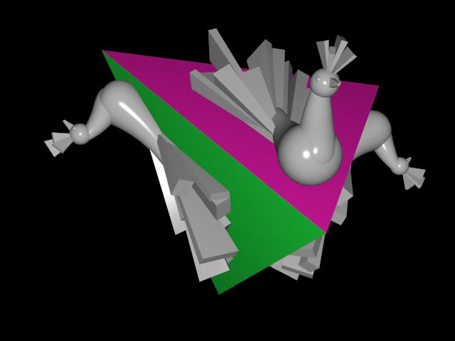 tetraëder-met-pauwen