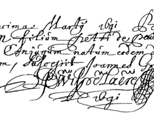 Doopakte 1691