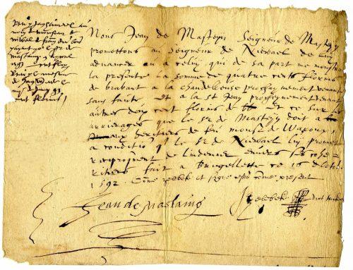 De Mastaing 1592